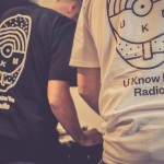 U Know Me Radio tee black